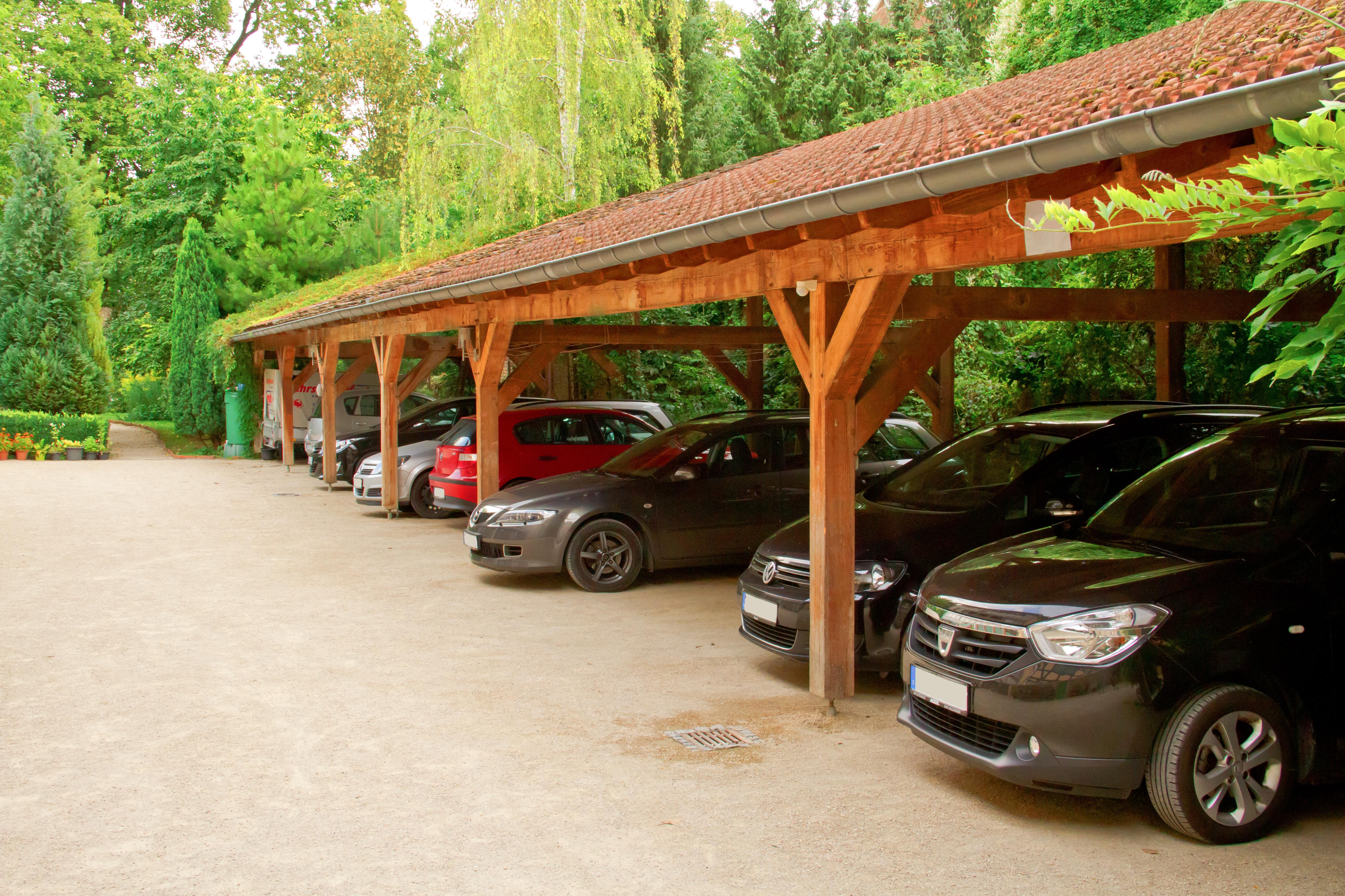 Fahrzeugstellplatz